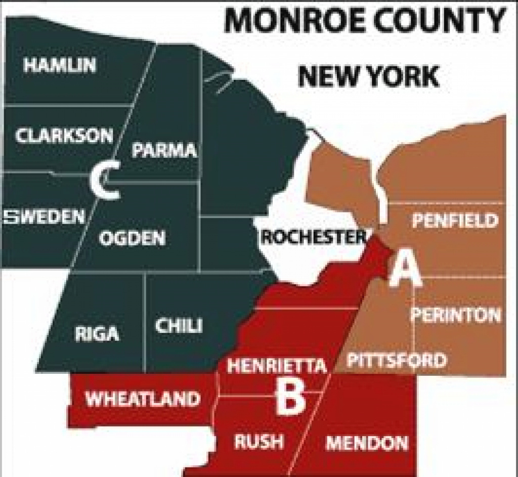 Sheriff Zones - Neighborhood Crime Watch | Monroe County, Ny within New York State Crime Map