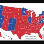 Should We Be Concerned About Blue Staters Moving To Red States? Throughout Map Of Red States And Blue States 2016