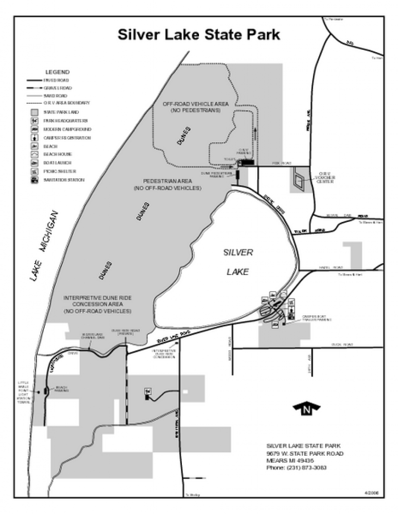 Silver Lake State Park, Michigan Site Map | Maps - Local | Pinterest intended for Silver Lake State Park Campground Map
