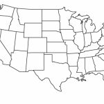 Simple Usa Map | Aahealthcare Within Us Map With State Lines