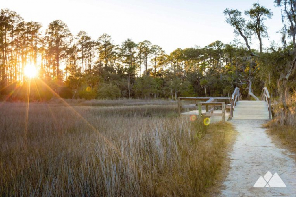 Skidaway Island State Park: Hiking The Sandpiper Trail & Avian Loop with regard to Skidaway Island State Park Trail Map
