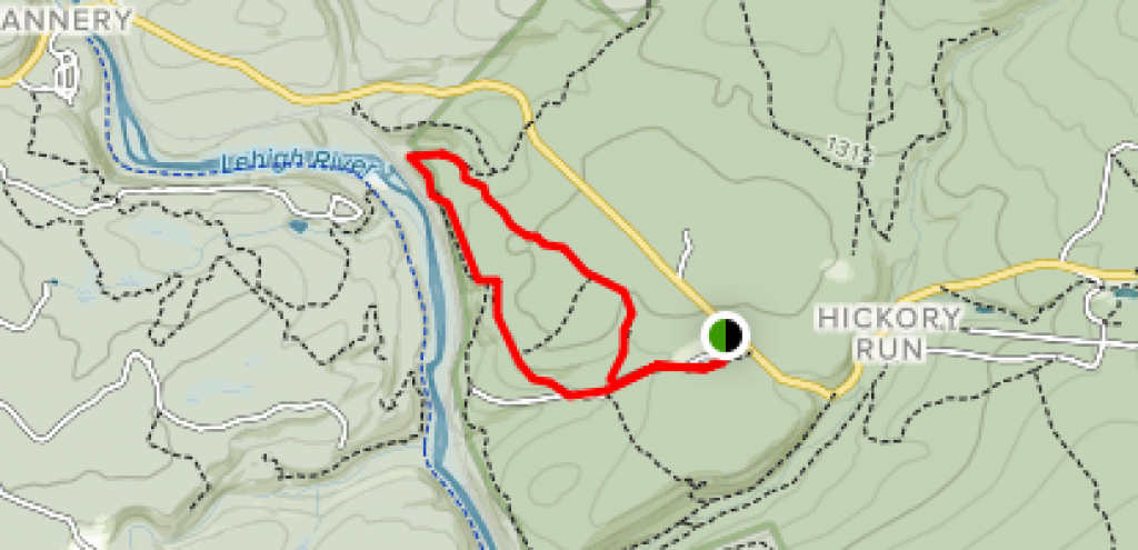 Skyline Trail - Pennsylvania | Alltrails throughout Hickory Run State Park Trail Map