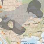 Smoke From Wildfires In Northwest Affects Western States   Wildfire Pertaining To Smoke Map Washington State