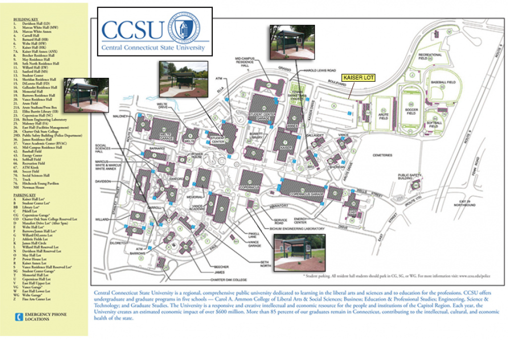 Smoking Policy pertaining to Central State University Campus Map