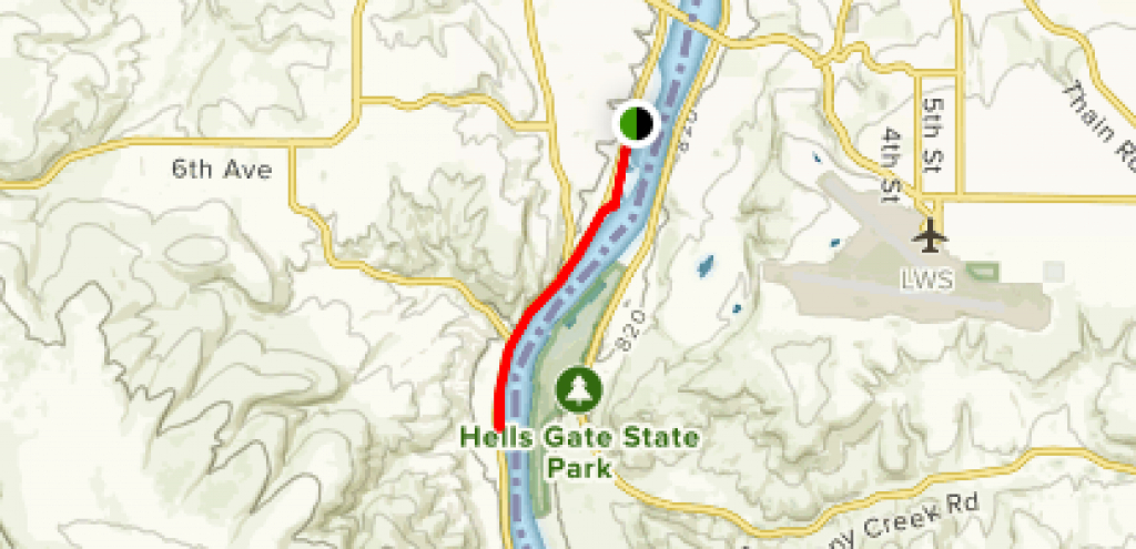 Snake River Trail - Idaho | Alltrails with regard to Hells Gate State Park Trail Map