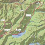 Snow Routes – Western States Endurance Run With Western States 100 Course Map