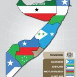Somalia State Map — Shabelle With Jubaland State Map
