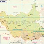 South Sudan Map, Map Of South Sudan Throughout Map Of South Sudan States And Counties