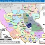 South Sudan Tribes Map | Jiengjang's Blog With Map Of South Sudan States And Counties