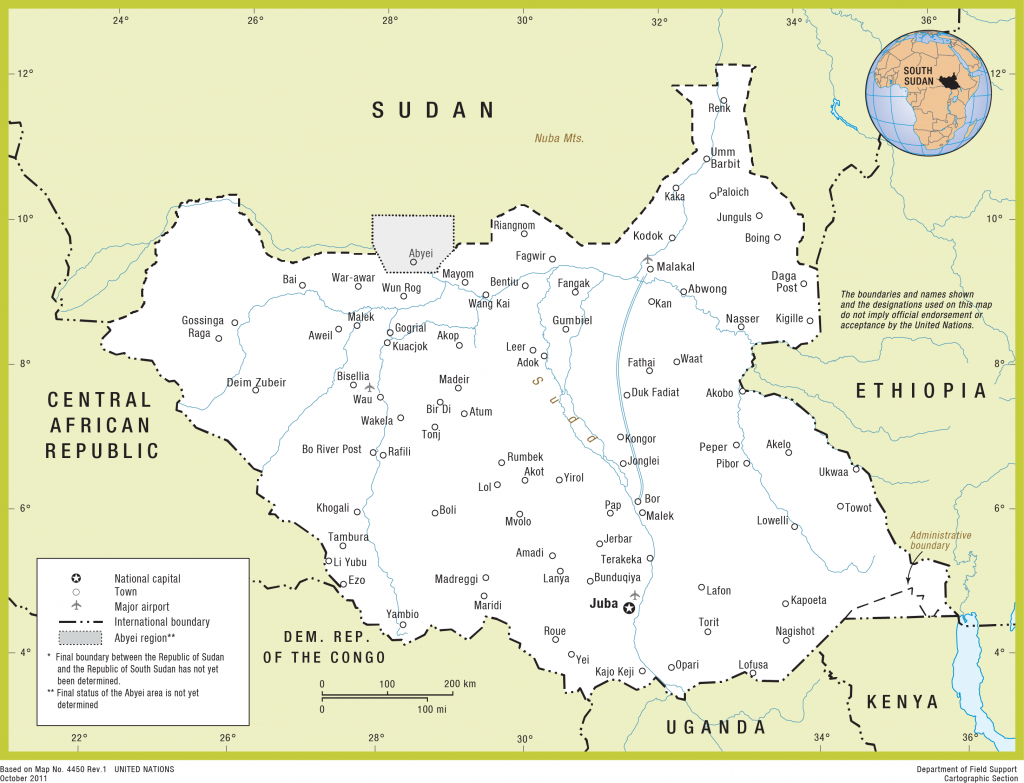 South Sudan's Peace Needs More Than Tents And Generators | Crisis Group throughout Map Of South Sudan States And Counties
