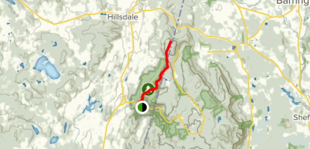 South Taconic Trail-North - New York | Alltrails throughout Taconic State Park Trail Map