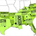 Southern Capitals & States   Youtube For Southeast Map With Capitals And States