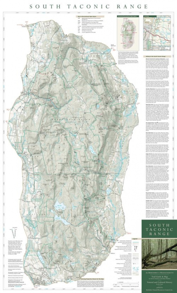 Taconic State Park Trail Map