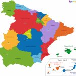 Spain Map   Blank Political Spain Map With Cities | Span 4 Historia Throughout Spain States Map