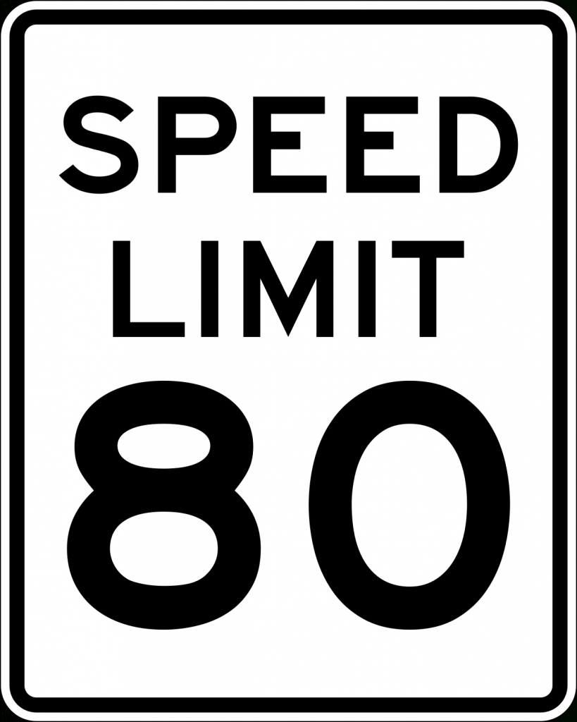 Speed Limits In The United States - Wikipedia in Interstate Speed Limits By State Map