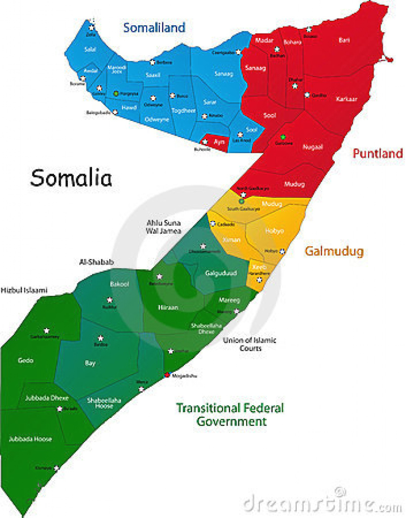 Springtime Of Nations: Jubaland And Puntland Deals May Help for Jubaland State Map