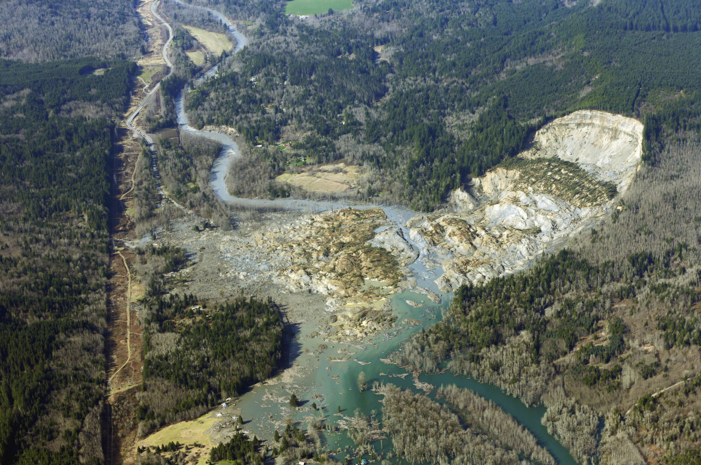 Spurredoso Landslide, Washington Puts Topo Maps Online | The with Washington State Mudslide Map