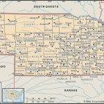 State And County Maps Of Nebraska Throughout Map Of Nebraska And Surrounding States