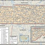 State And County Maps Of Tennessee Pertaining To Tennessee State Map With Counties