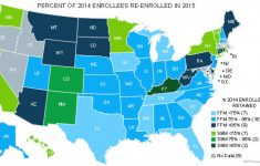 State-Based Exchanges Saw Higher Attrition From 2014 To 2015 Than throughout States With Exchanges Map