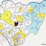 State Creation: New Proposed Map Of Nigeria Released   Daily Post Inside Map Of Nigeria With States