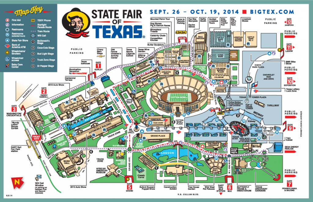 State Fair Of Texas Map | Business Ideas 2013 throughout State Fairgrounds Map