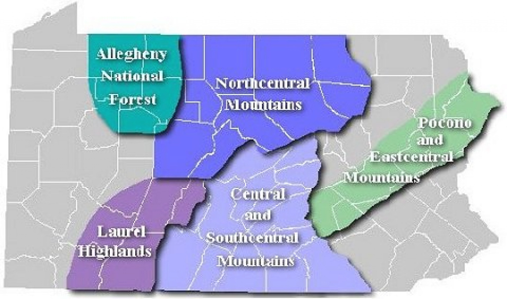 State Forest Snowmobile Trails - Maps And Trail Conditions - Pa Dcnr in Pa State Forest Maps