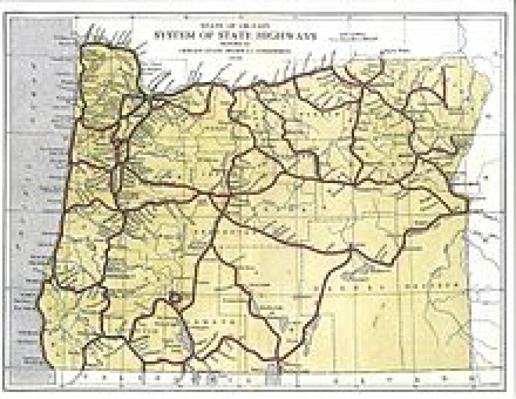 State Highways In Oregon - Wikipedia pertaining to Oregon State Highway Map
