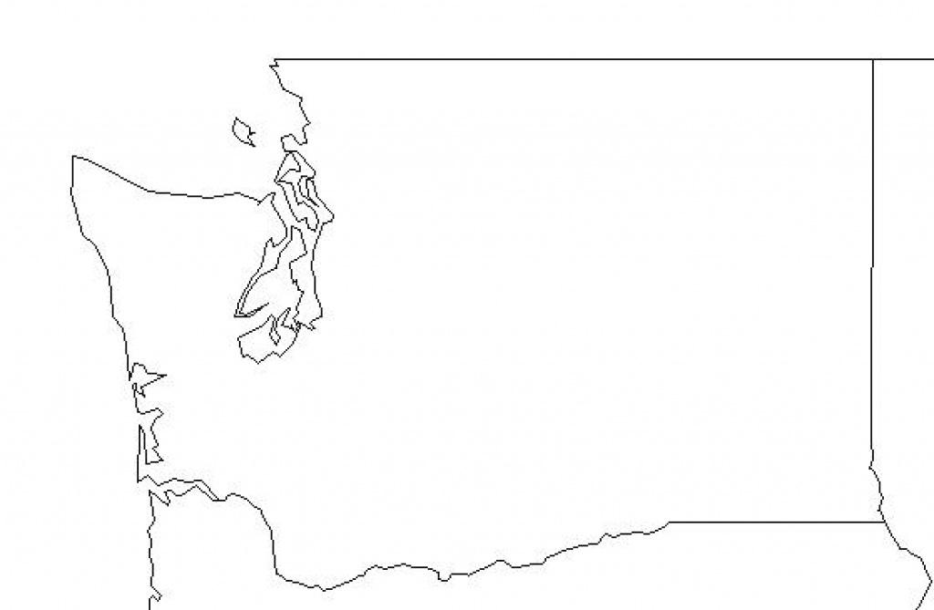 State Map Blank Outline Google Maps Washington Fires – Wineandmore inside Washington State Map Outline