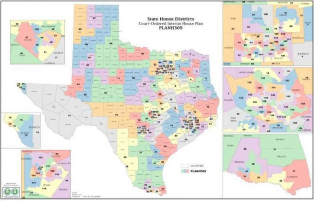 State Maps Cause Some Confusion - Beaumont Enterprise with regard to Texas State House District Map
