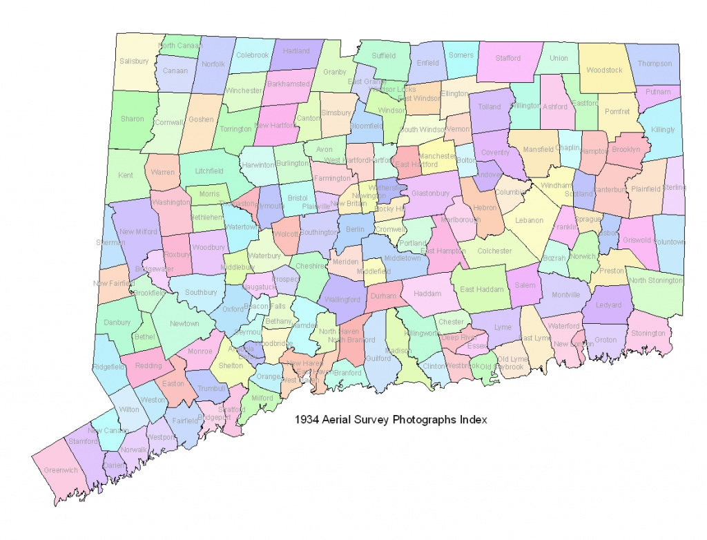 State Of Ct Map And Travel Information | Download Free State Of Ct Map throughout State Of Ct Map With Towns