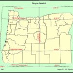 State Of Oregon: Oregon Geospatial Enterprise Office   Oregon With State Plane Coordinate System Map