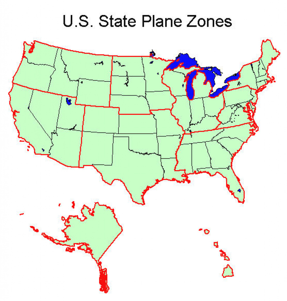 State Plane Coordinate System - Xms Wiki regarding Texas State Plane Coordinate Map