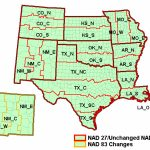 State Plane Coordinate System   Xms Wiki With Regard To Texas State Plane Coordinate Map
