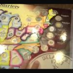 State Series Quarters Collector Map Review   Youtube Within State Series Quarters Collector Map
