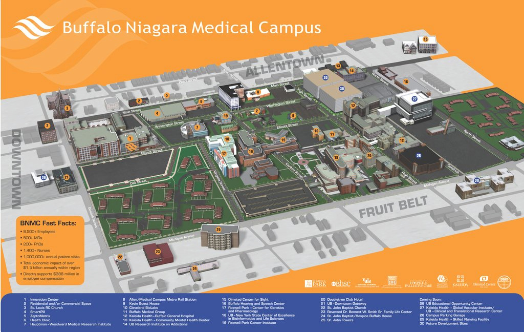 State University Of Ny-College-Buffalo - Maplets with regard to Buffalo State College Parking Map