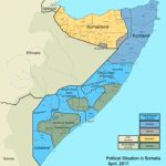 States And Regions Of Somalia   Wikipedia Within Jubaland State Map