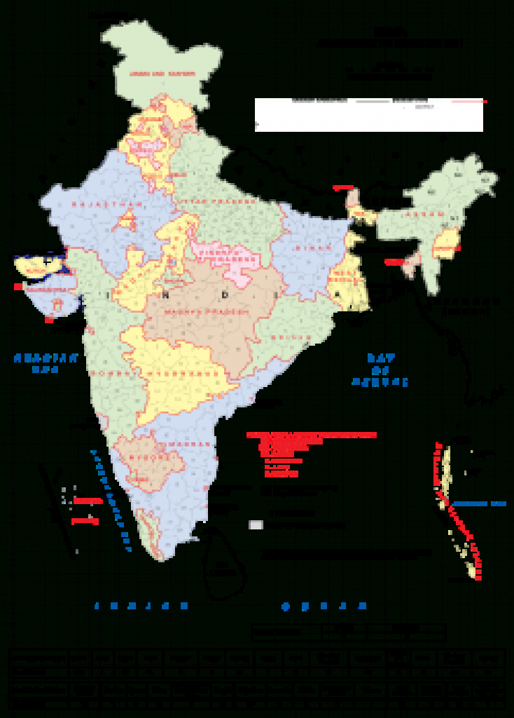 States And Union Territories Of India - Wikipedia within India Map With States Name In Hindi