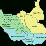 States Of South Sudan   Wikipedia Pertaining To Map Of South Sudan States And Counties