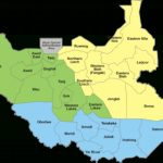 States Of South Sudan   Wikipedia Regarding Map Of South Sudan States And Counties