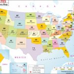 States Of Us With Abbreviations | #maps In 2018 | Pinterest | State Regarding Usa Map With States Capitals And Abbreviations