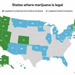 States Where Marijuana Is Legal   Business Insider Intended For Medical Marijuana States Map