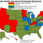 Status Of State Health Insurance Exchanges In States With Exchanges Map