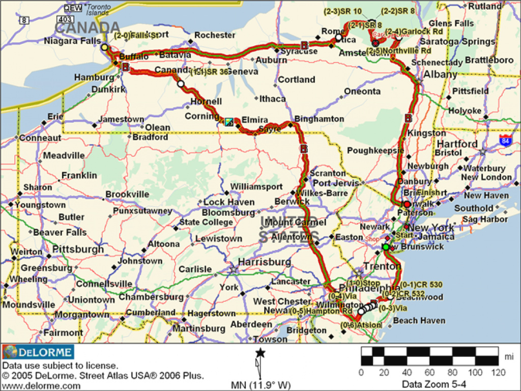 Sti: 48Hrs Of Tristate Jan 2006 with regard to Tri State Map