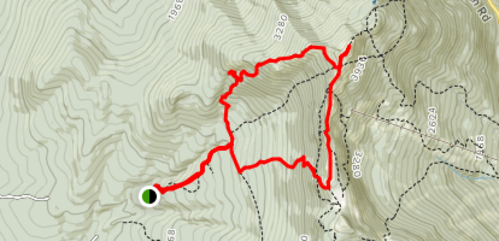 Sunset Ridge Trail And Long Trail Loop - Vermont | Alltrails throughout Underhill State Park Trail Map