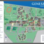 Suny Geneseo Campus Map | Suny Geneseo With Wayne State University Campus Map