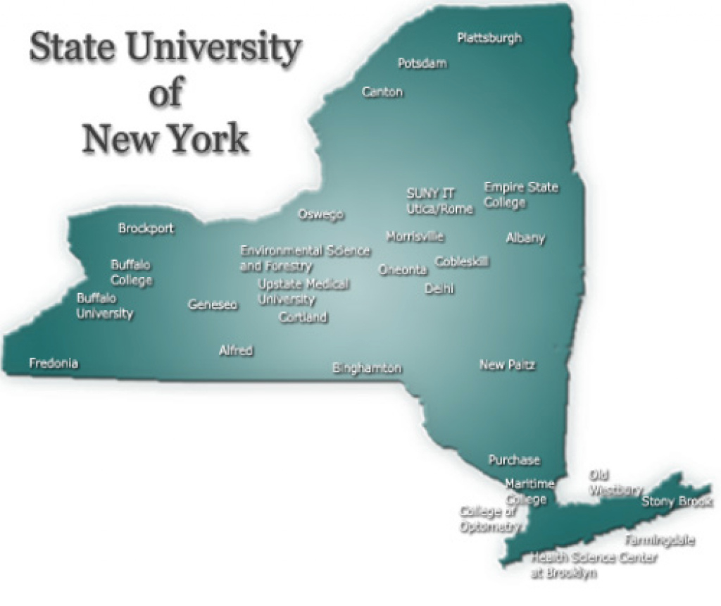 Suny Student Loan Service Center - Home throughout State University Of New York Map