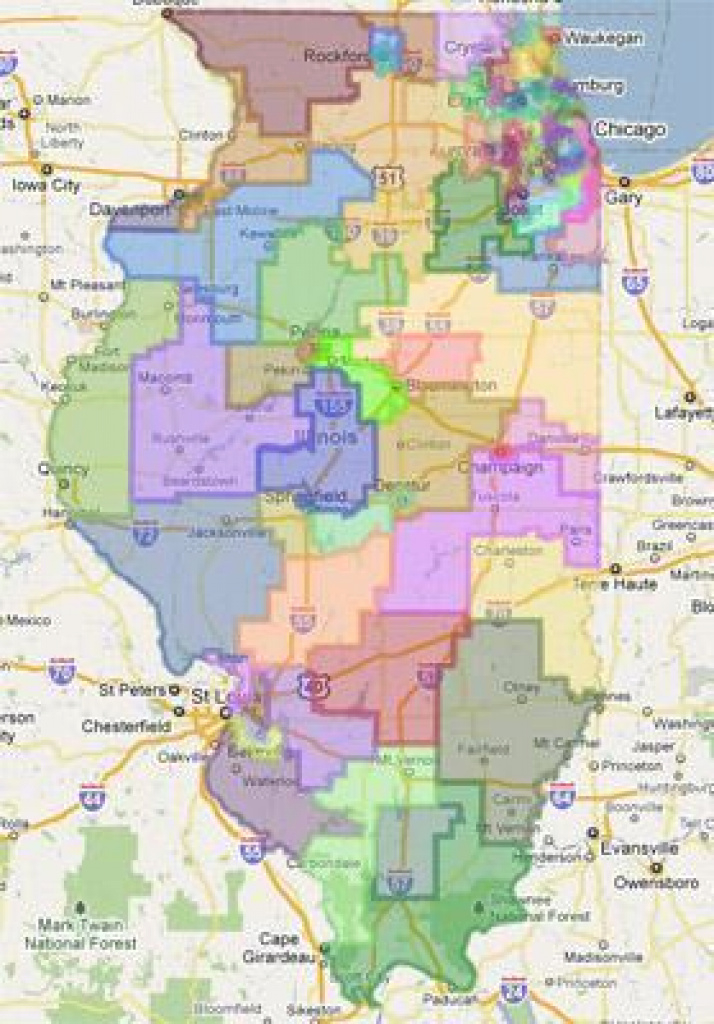 Supreme Court Puts Final Nail In Redistricting Effort's Coffin | Npr intended for Illinois State Representative District Map