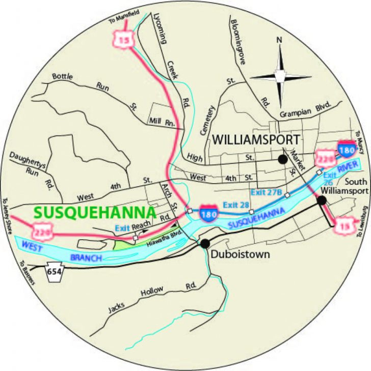 Susquehanna State Park Camping Map