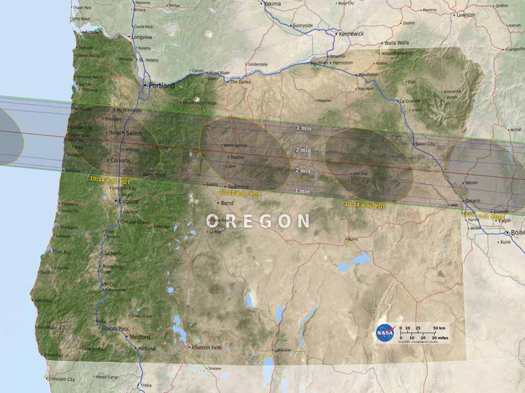 Svs: 2017 Eclipse State Maps pertaining to Eclipse Maps By State